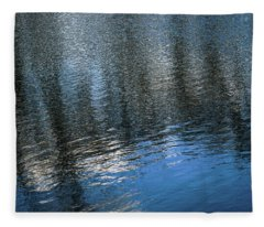 River Ripples 1 Fleece Blanket