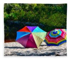 River Shade Fleece Blanket