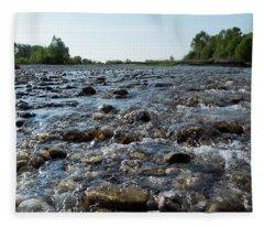 River Walk Fleece Blanket