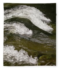 River Waves Fleece Blanket