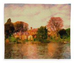 Riverview II Fleece Blanket