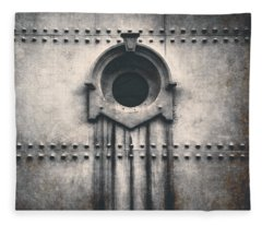 Rivets And Rust Fleece Blanket