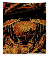 Road King Fleece Blanket