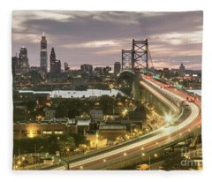Road To Brotherly Love Fleece Blanket