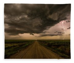 Road To Chaos  Fleece Blanket