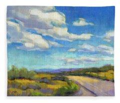 Road Trip Fleece Blanket