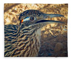 Roadrunner Portrait Fleece Blanket