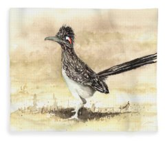 Roadrunner Fleece Blanket
