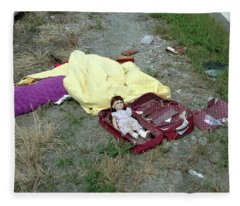 Roadside Doll Fleece Blanket