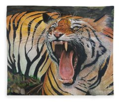 Roar Fleece Blanket