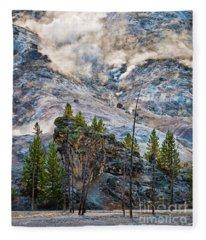 Roaring Mountain Fleece Blanket