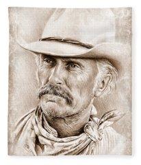Robert Duvall  The Western Collection Fleece Blanket