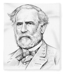 Robert E. Lee Fleece Blanket