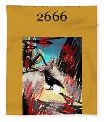 Roberto Bolano 2666 Poster  Fleece Blanket