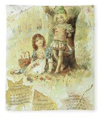 Robin And Marian  Fleece Blanket