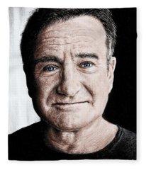 Robin Williams Colour Edit Fleece Blanket