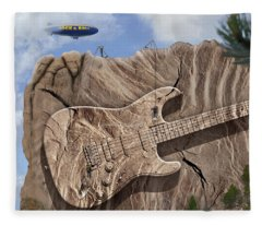 Rock And Roll Park 2 Fleece Blanket
