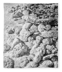 Rock And Salt 2 Fleece Blanket