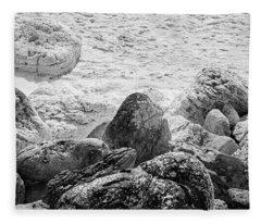 Rock And Salt Fleece Blanket