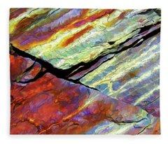 Rock Art 16 Fleece Blanket