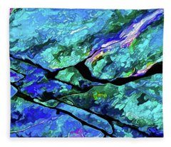 Rock Art 18 Fleece Blanket