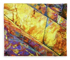 Rock Art 23 Fleece Blanket