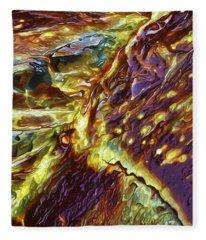 Rock Art 28 Fleece Blanket