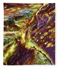 Rock Art 28 Fleece Blanket