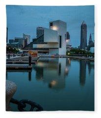 Rock Blues Fleece Blanket
