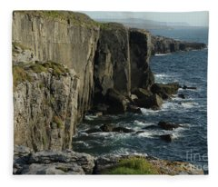 Rock Climbing Burren Fleece Blanket