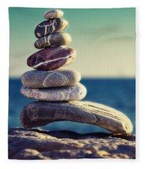Rock Energy Fleece Blanket