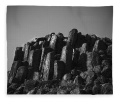 Monument To Glacier Fleece Blanket