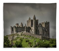 Rock Of Cashel Fleece Blanket