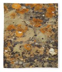 Rock Pattern Fleece Blanket