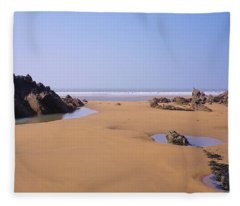 Rock Pools Fleece Blanket
