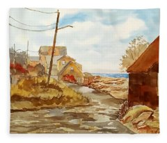 Rockport Coast Fleece Blanket