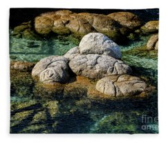 Rocks Resembling Loaves Of Bread Fleece Blanket