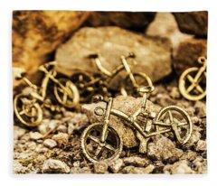 Rocky Cape Bicycles Fleece Blanket