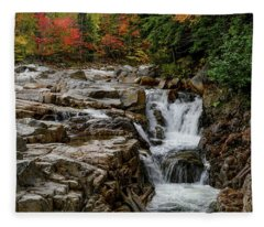 Rocky Gorge 2 Nh Fleece Blanket