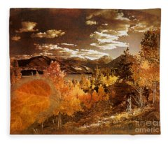 Rocky Mountain Gold 2015 Fleece Blanket