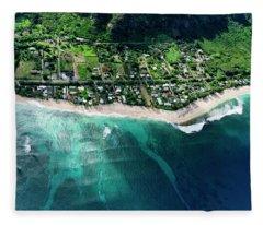 Rocky Point Overview. Fleece Blanket