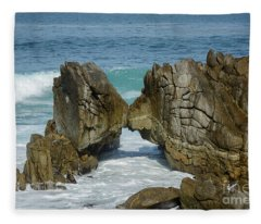 Rocky Romance Fleece Blanket