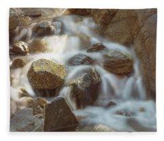 Rocky Water Fleece Blanket