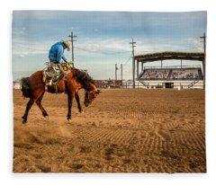 Rodeo Days Fleece Blanket