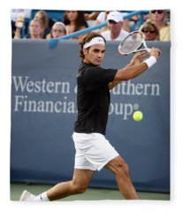 Roger Federer Fleece Blanket