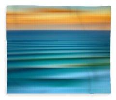Rolling In Fleece Blanket