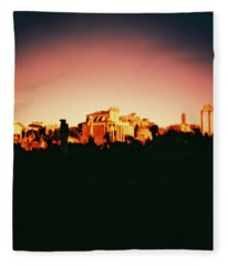 Roman Imperial Forum Fleece Blanket