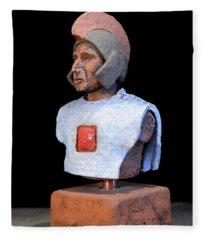 Roman Legionaire - Warrior - Ancient Rome - Roemer - Romeinen - Antichi Romani - Romains - Romarere  Fleece Blanket