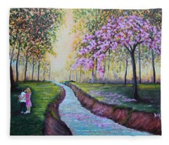 Romantic Moment Fleece Blanket