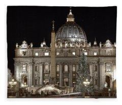Rome Vatican Fleece Blanket